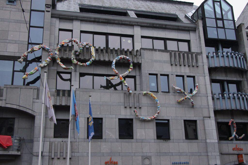 Façade Ethias-Hôtel de ville- Namur / 2016
